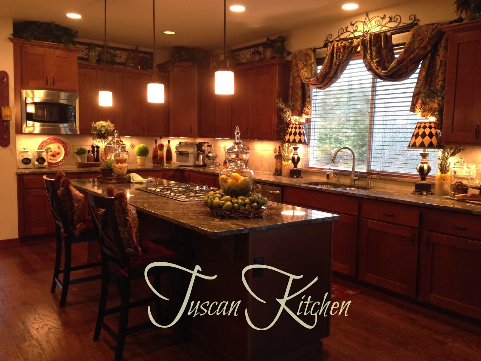 Best ideas about Tuscany Kitchen Decor . Save or Pin The Tuscan Home Wel e To Our Tuscan Kitchen Now.