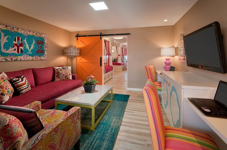 Best ideas about Tv For Kids Room . Save or Pin Kids TV Room Contemporary media room Vallone Design Now.