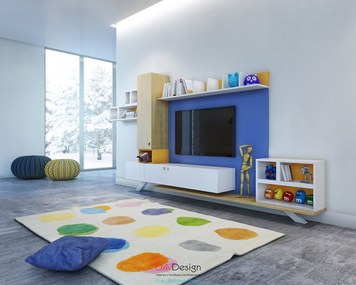 Best ideas about Tv For Kids Room . Save or Pin kids playroom ideas Now.