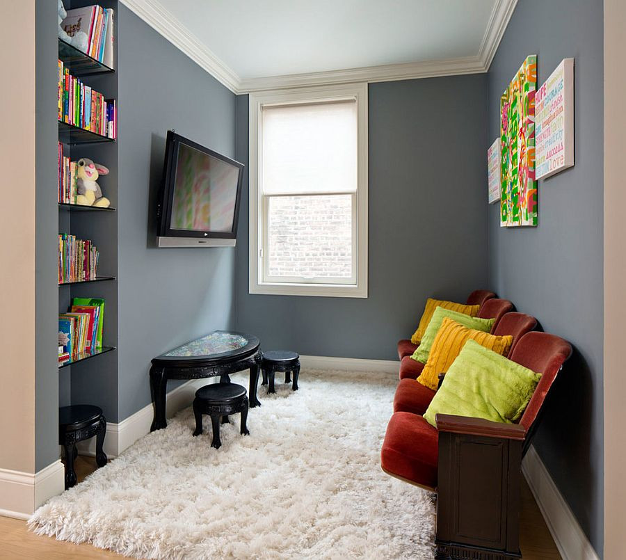 Best ideas about Tv For Kids Room . Save or Pin 20 Small TV Rooms That Balance Style with Functionality Now.