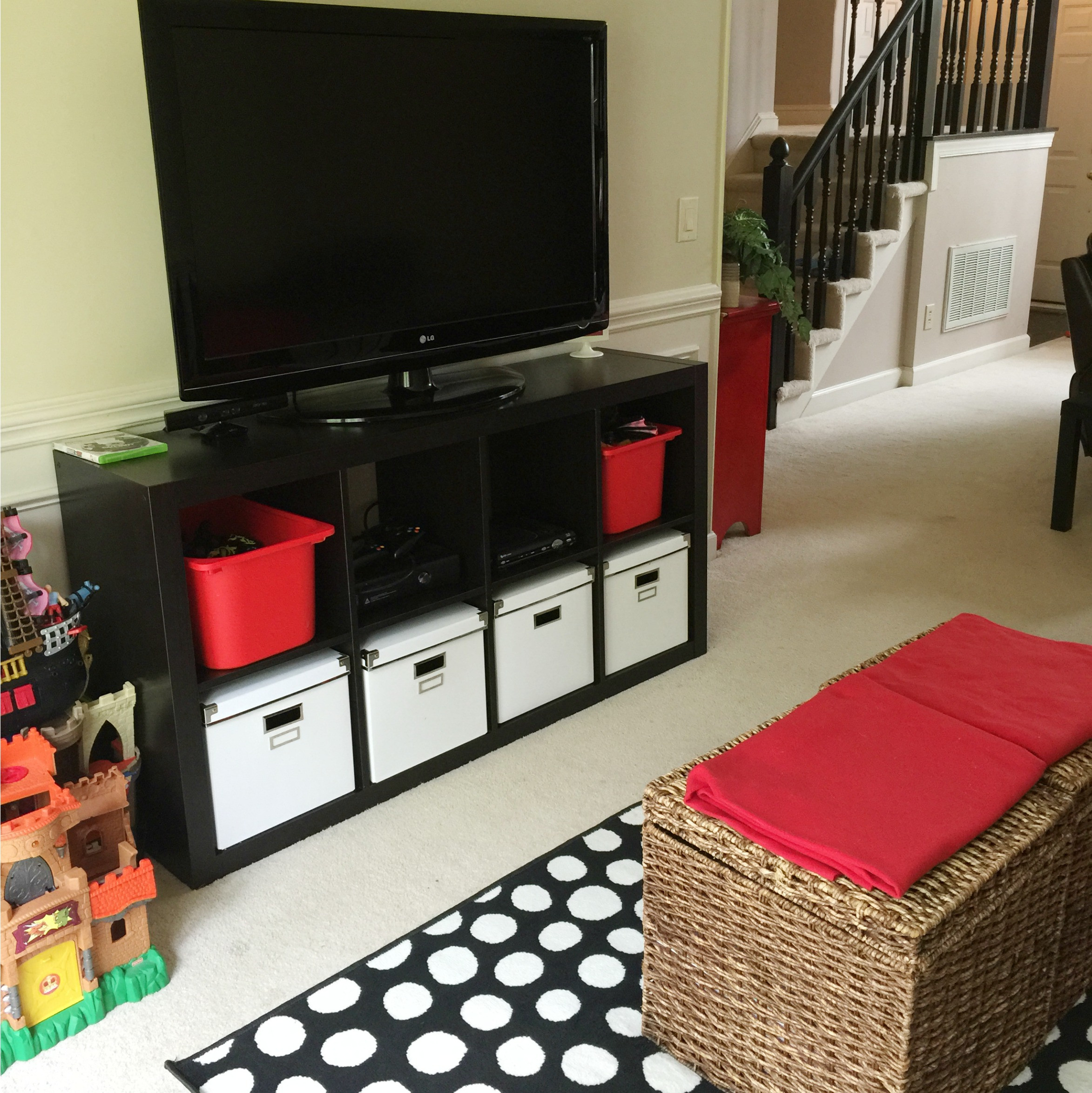 Best ideas about Tv Stand For Kids Room . Save or Pin Turning A Formal Dining Room Into A Kid's TV Space Now.