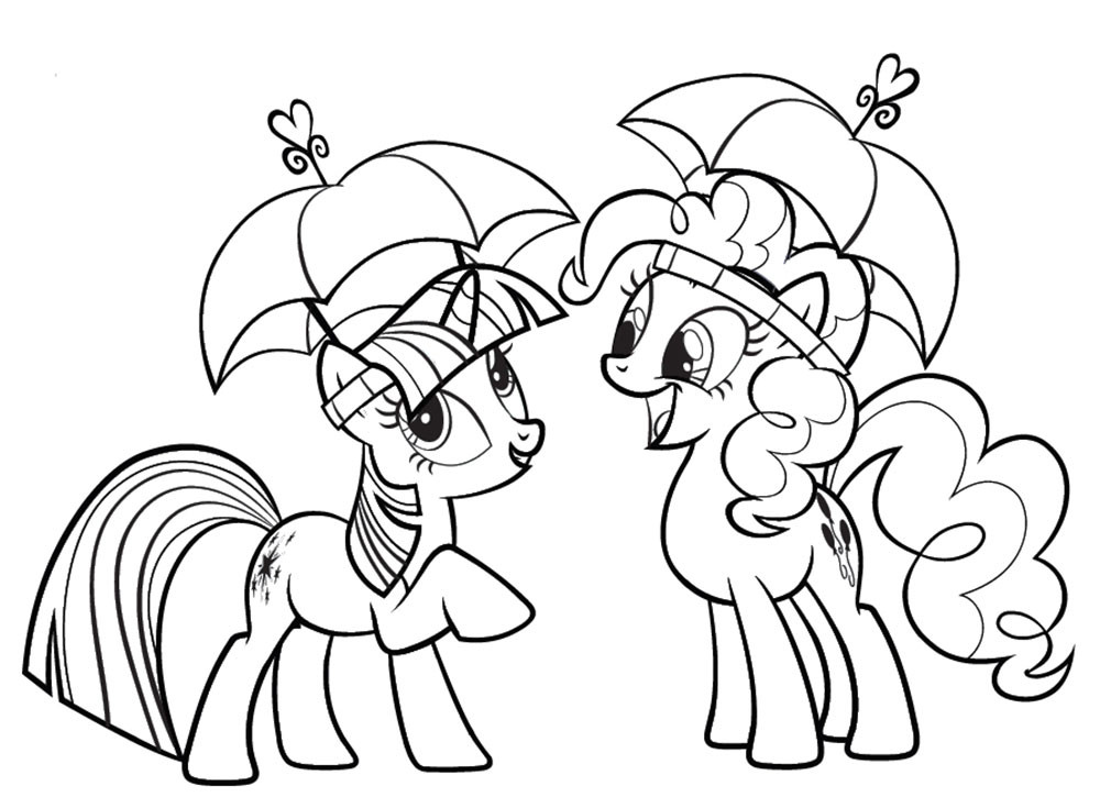 Twilight Coloring Sheets For Girls  Twilight Sparkle coloring pages to and print for free