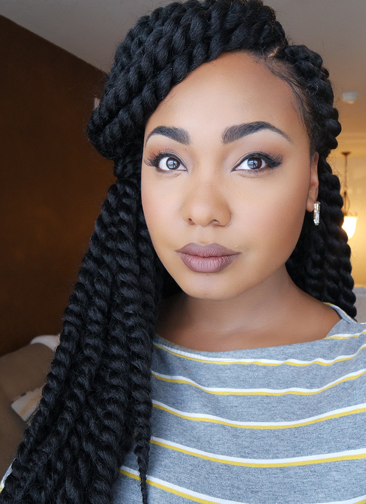 Twist Braid Hairstyles Pictures  How To Easy Braid Pattern For Natural & Versatile Crochet