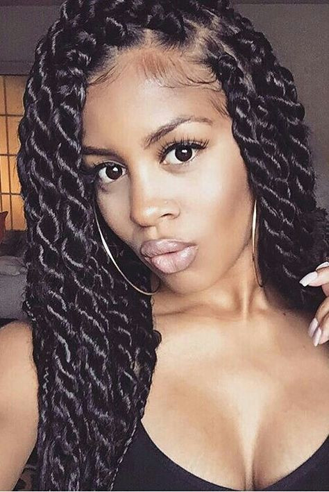 Twist Braid Hairstyles Pictures  35 Gorgeous Poetic Justice Braids Styles