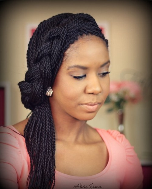 Twist Braid Hairstyles Pictures  50 Thrilling Twist Braid Styles To Try This Season