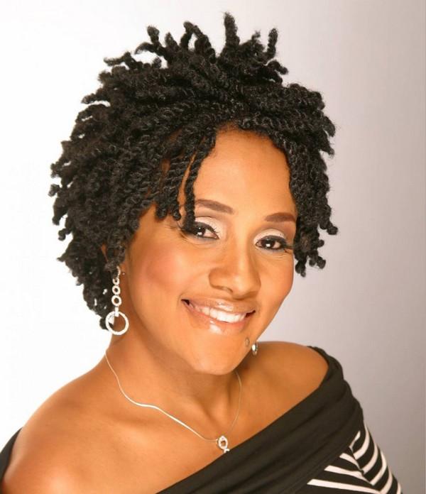 Twist Braid Hairstyles Pictures  51 Kinky Twist Braids Hairstyles with
