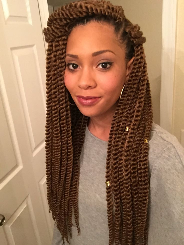 Twist Braids Hairstyles  30 Protective High Shine Senegalese Twist Styles