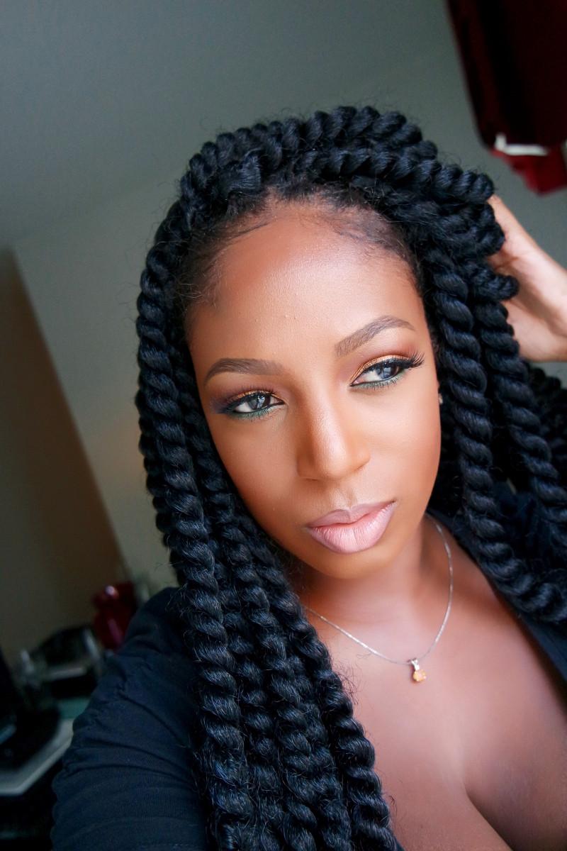 Twist Braids Hairstyles  Passionfruit and Crochet Braids