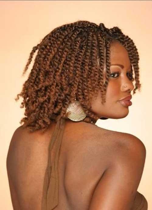 Twist Braids Hairstyles  Braids for Black Women with Short Hair