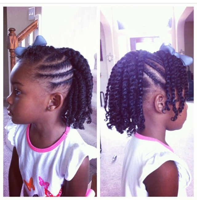 Twist Hairstyles For Kids  143 best images about Natural Kids Twists on Pinterest