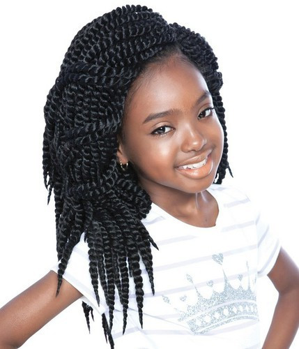 Twist Hairstyles For Kids  20 Enthralling Crochet Braids for Kids to Try HairstyleCamp