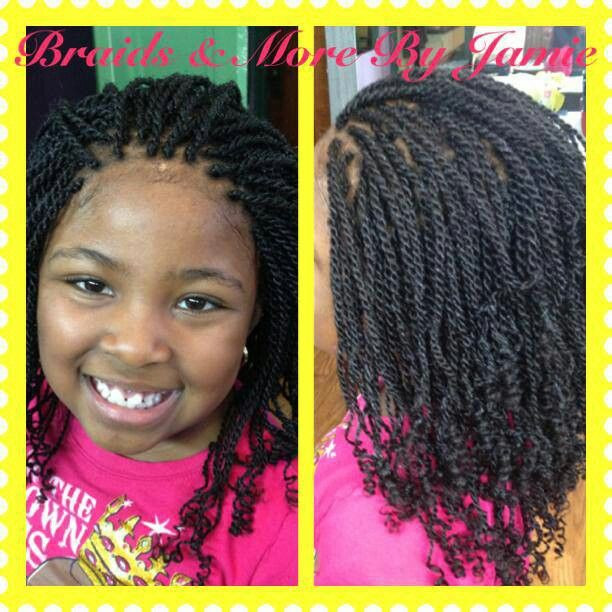 Twist Hairstyles For Kids  Kids kinky twist Hairstyles Galore Pinterest