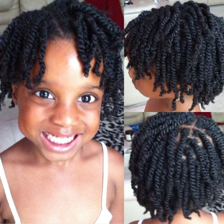 Twist Hairstyles For Kids  Natural Kids Protective Hairstyles