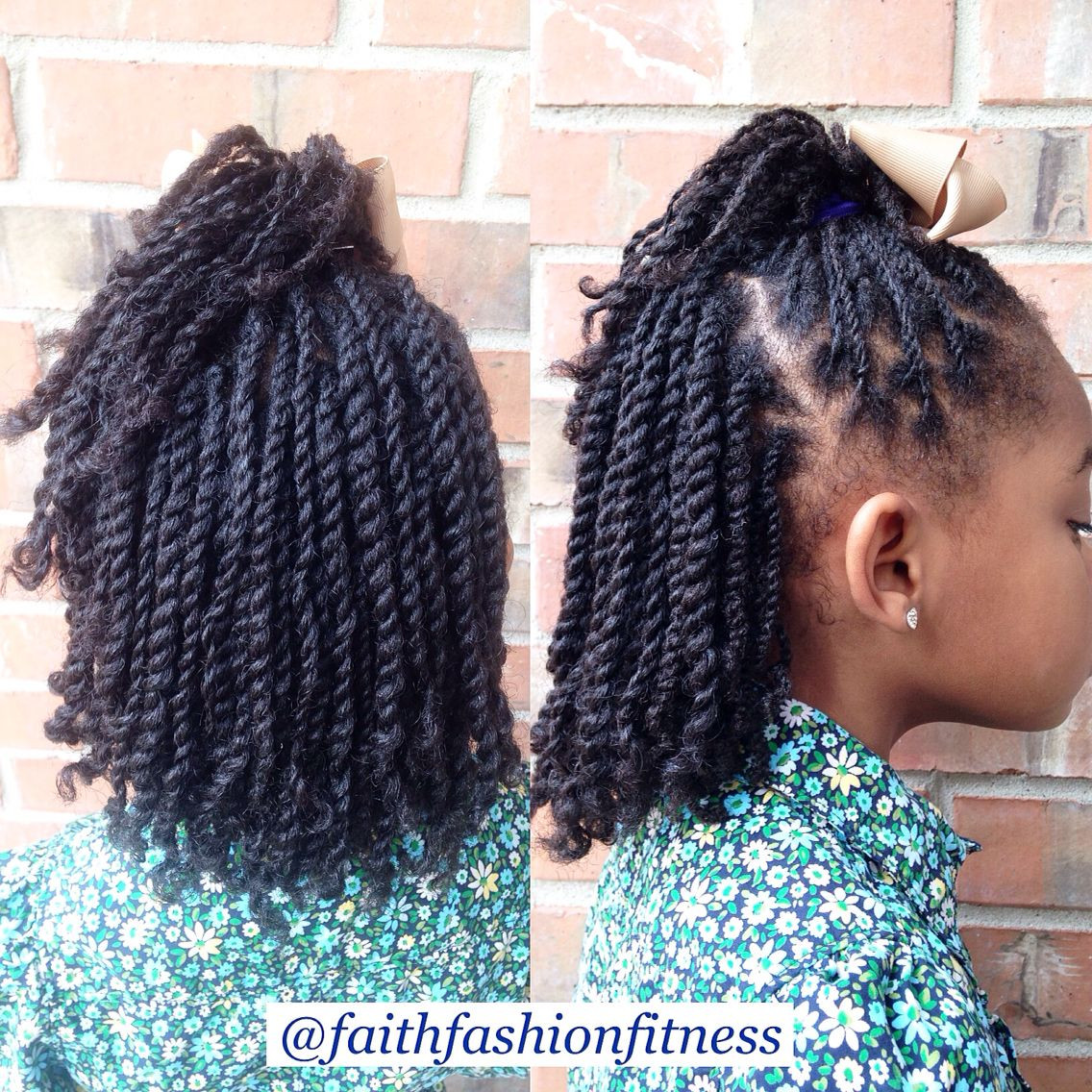 Twist Hairstyles For Kids  Cute Twist Hairstyles For Toddlers
