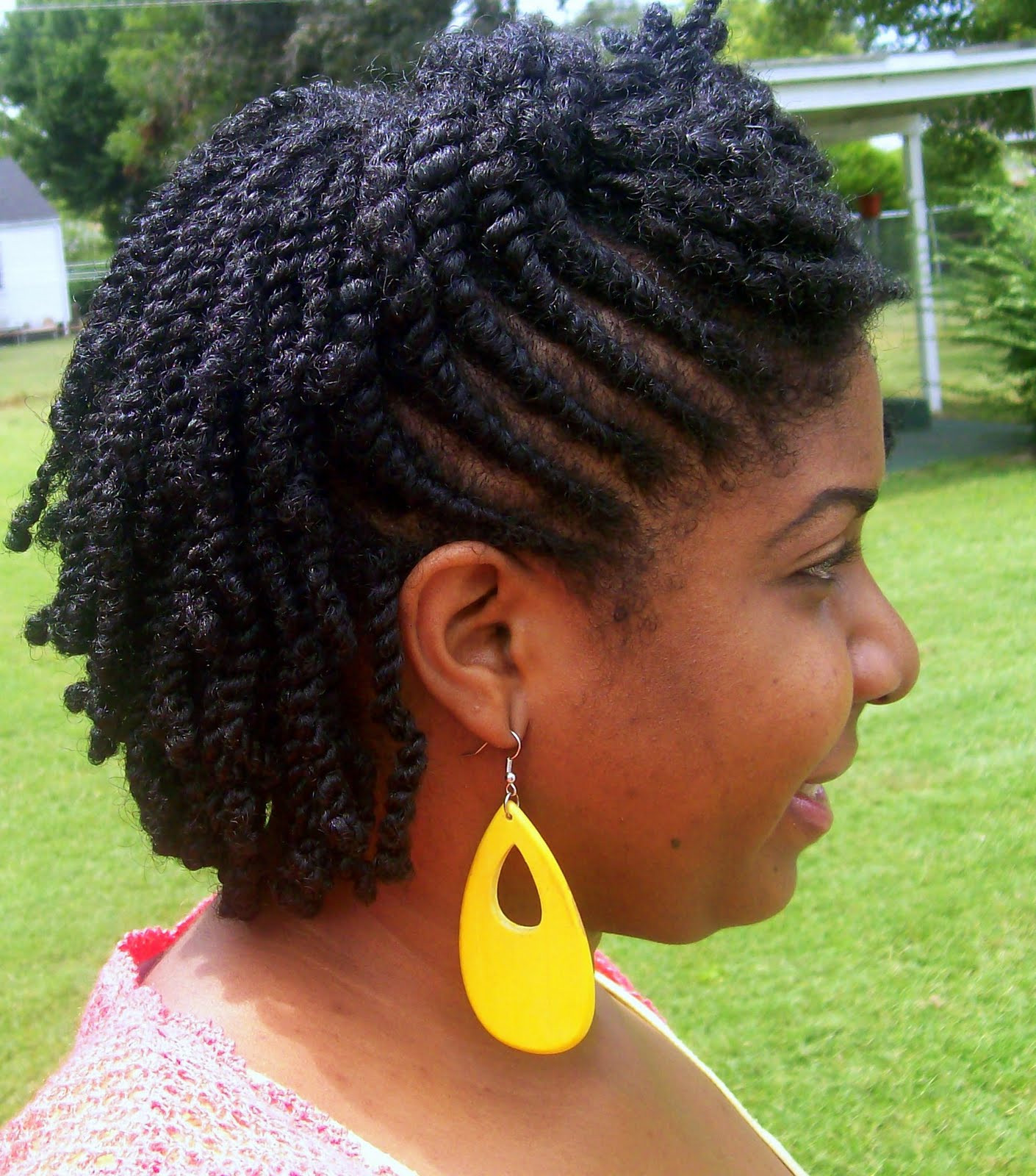 Twisted Hairstyles For Girls  Short twist natural hairstyles Hairstyle for women & man