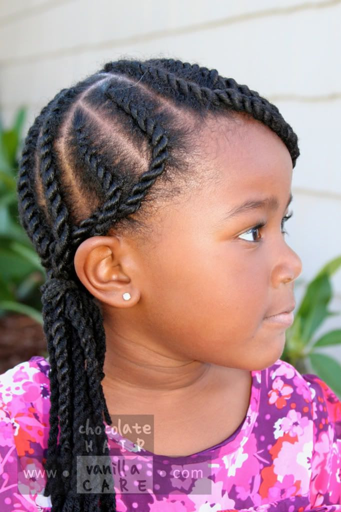 Twisted Hairstyles For Girls  17 Best images about Natural Hair for Black Kids on