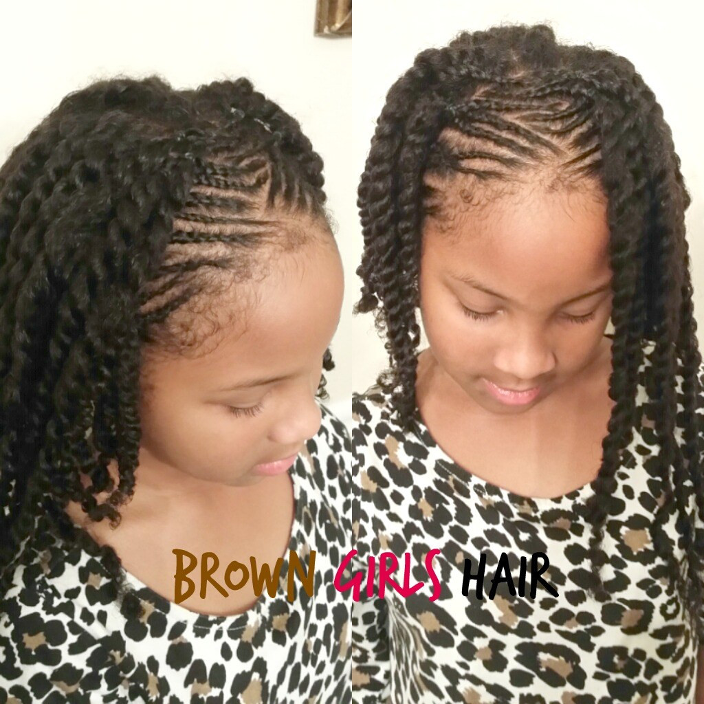 Twisted Hairstyles For Girls  top 5 little girl hairstyles for summer
