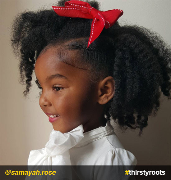 Twisted Hairstyles For Girls  20 Cute Natural Hairstyles for Little Girls