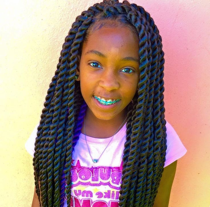 Twisted Hairstyles For Girls  Senegalese twists