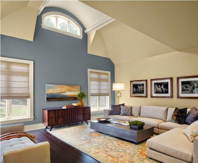 Best ideas about Two Accent Walls . Save or Pin Paint Colors for Living Room Accent Wall Now.