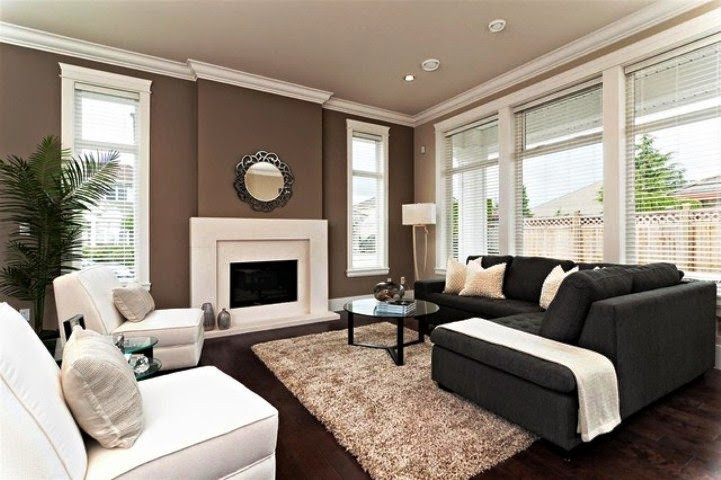 Best ideas about Two Accent Walls . Save or Pin Paint Color Ideas for Living Room Accent Wall Now.
