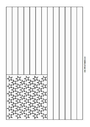 U.S.Flag Coloring Pages  Usa Sights Free Colouring Pages