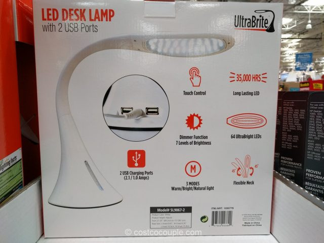 Best ideas about Ultrabrite Led Desk Lamp . Save or Pin Ultrabrite LED Desk Lamp Now.