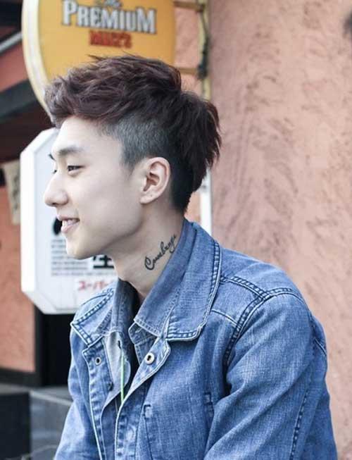 Undercut Asian Hairstyle  15 Best Short Asian Hairstyles Men