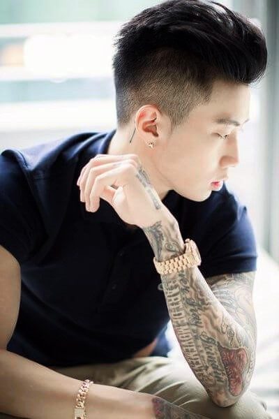 Undercut Asian Hairstyle  50 Bold Undercut Hairstyle Ideas To Try Out