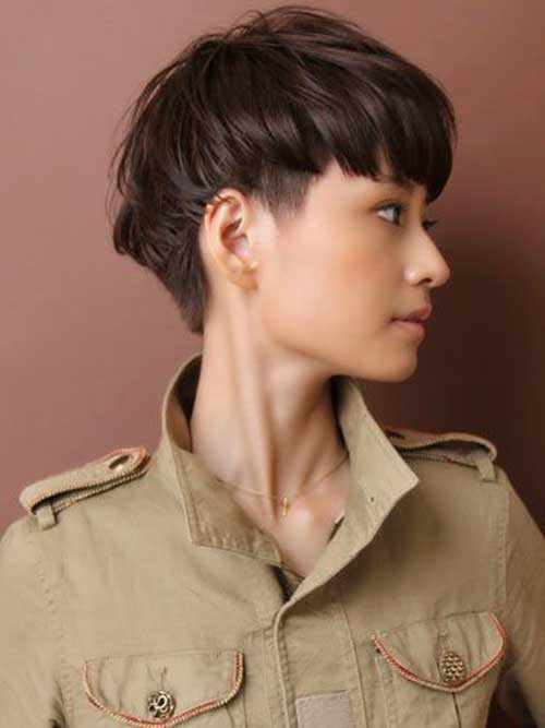 Undercut Asian Hairstyle  25 Gorgeous Asian Hairstyles For Girls