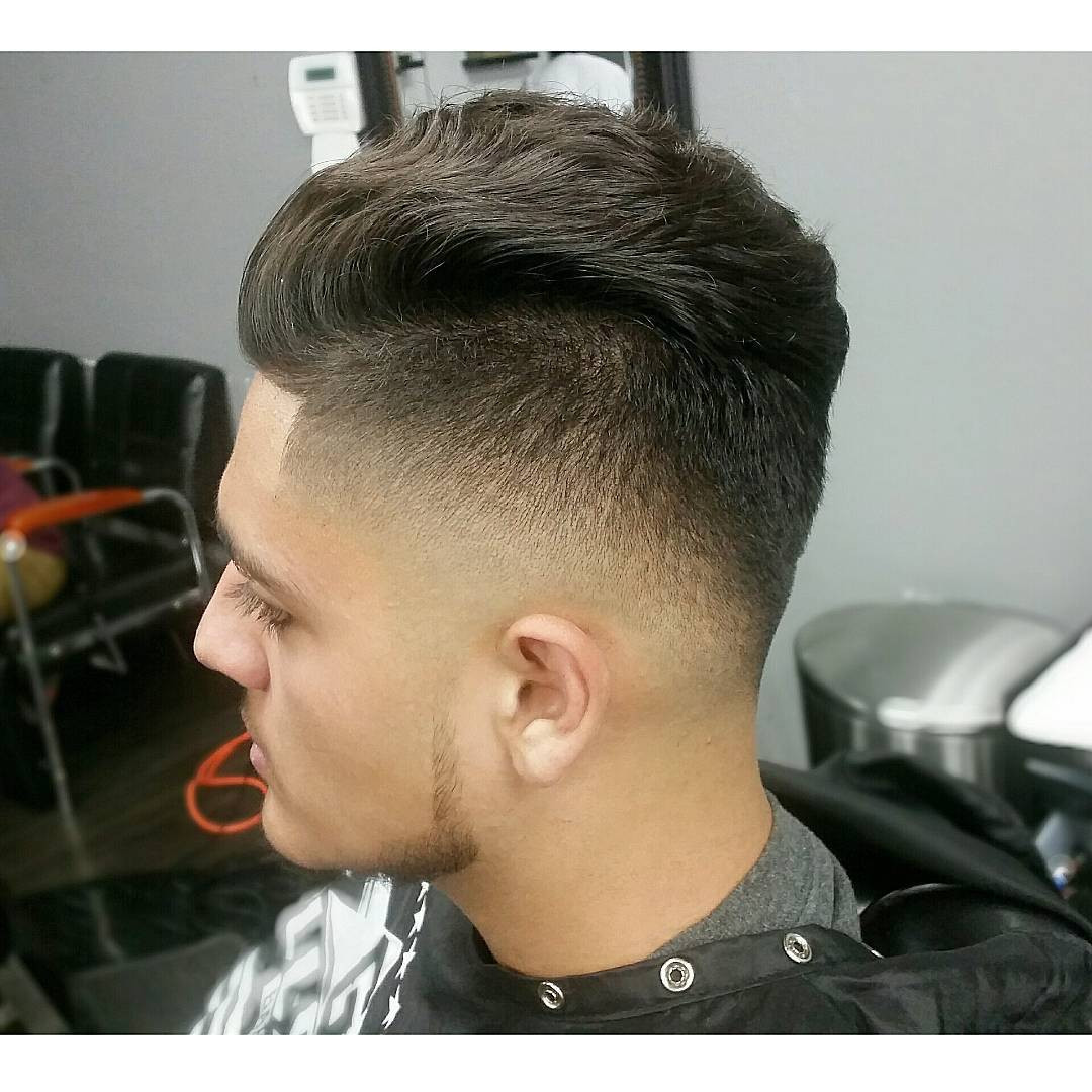 Undercut Fade Hairstyle  Mens Undercut And Fade