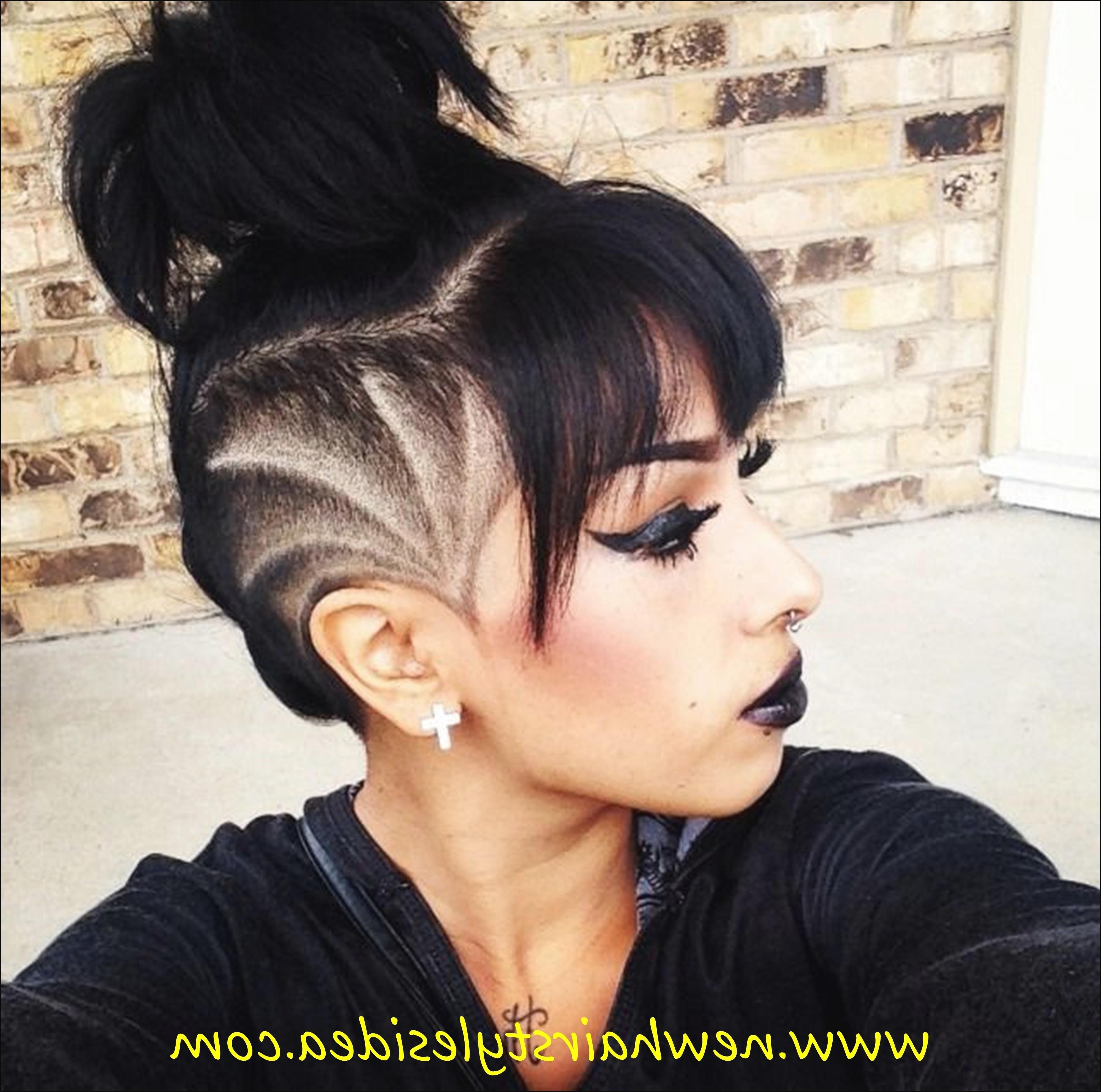 Undercut Girl Hairstyle  Undercut Hairstyle For Girl