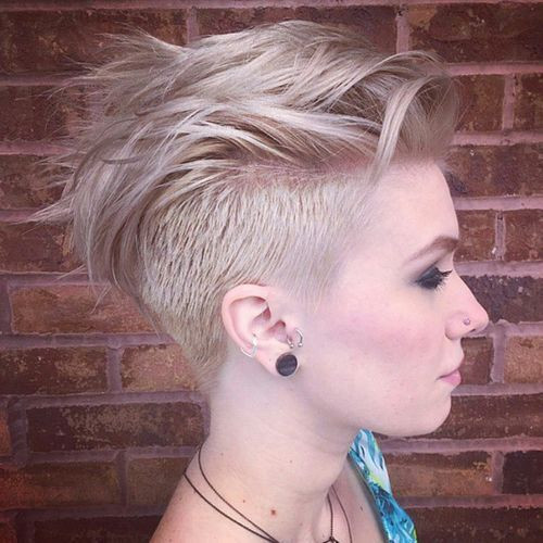 Undercut Girl Hairstyle  30 Awesome Undercut Hairstyles for Girls 2019
