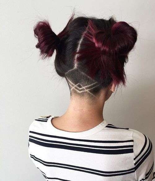 Undercut Girl Hairstyle  Top 40 Awesome Women s Undercut Hairstyle for Short Hair