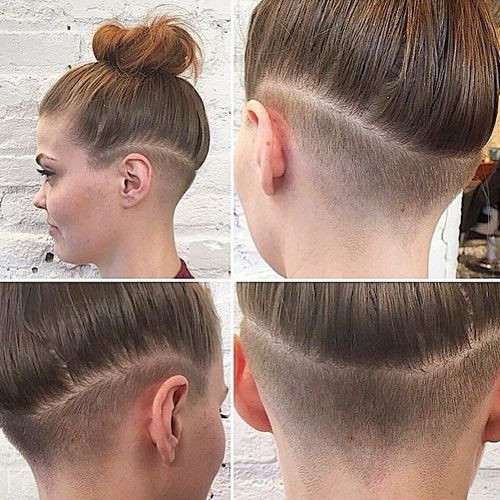 Undercut Girl Hairstyle  Stunning Undercut Hairstyles for your Bold Look