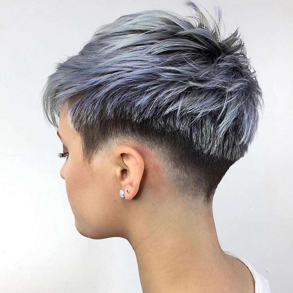 Undercut Girl Hairstyle  The Newest 2018 Undercut Hair Design for Girls – Pixie