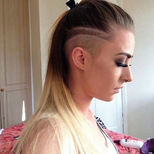 Undercut Girl Hairstyle  50 Women's Undercut Hairstyles to Make a Real Statement