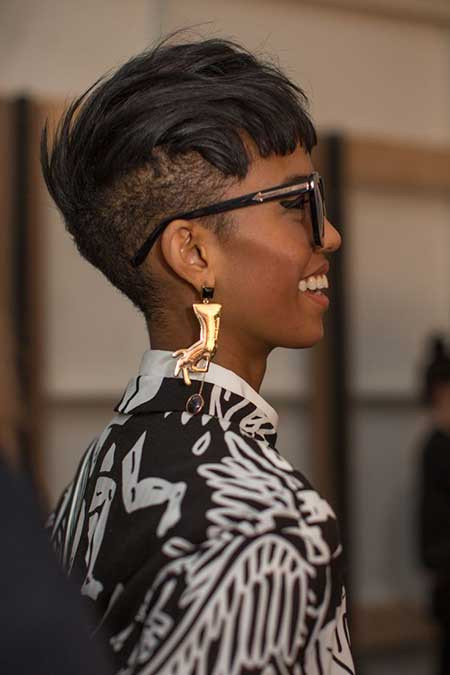 Undercut Hairstyle Black Women  25 Short Hairstyles for Black Women