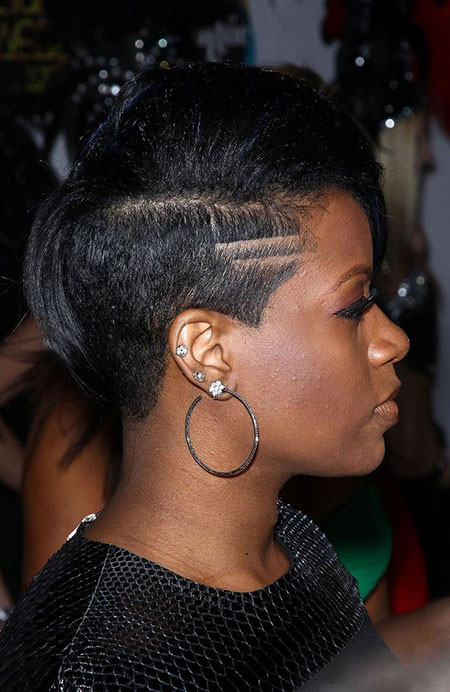 Undercut Hairstyle Black Women  Easy Short Hairstyles for Black Women