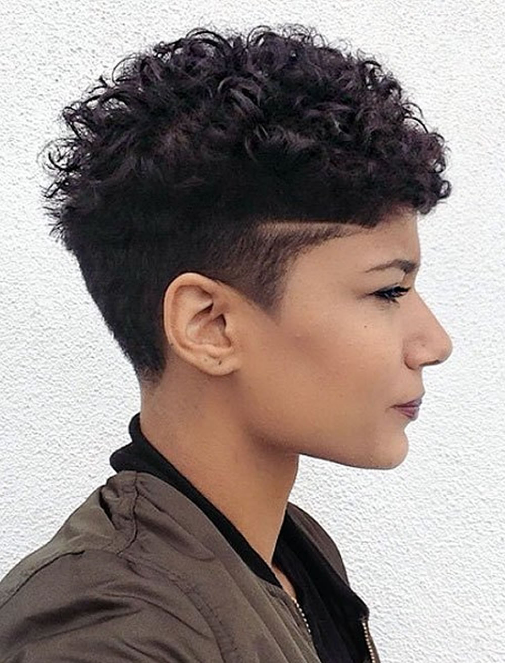 Undercut Hairstyle Black Women  Undercut Short Hairstyles for Black Women & Which e
