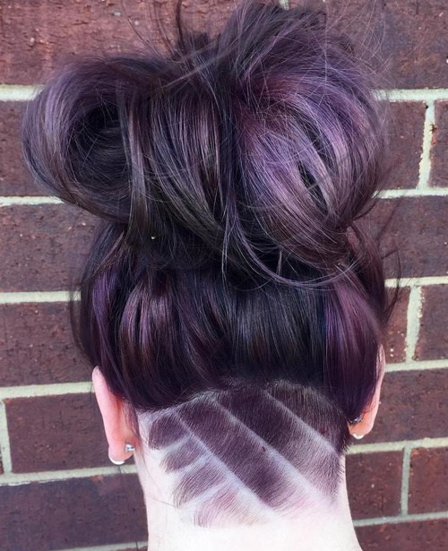 Undercut Hairstyle Female Long Hair  50 Women's Undercut Hairstyles to Make a Real Statement