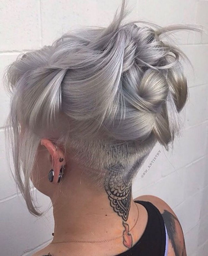 Undercut Hairstyle Female Long Hair  30 Female Undercut Hairstyles for Any Face Shape [January