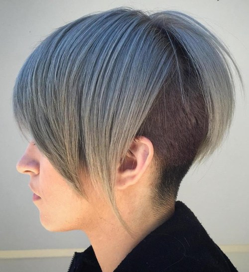 Undercut Hairstyle For Short Hair  50 Women's Undercut Hairstyles to Make a Real Statement