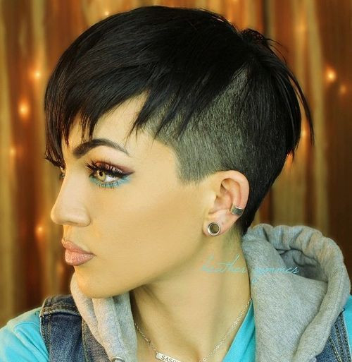 Undercut Hairstyle For Short Hair  Top 40 Hottest Very Short Hairstyles for Women