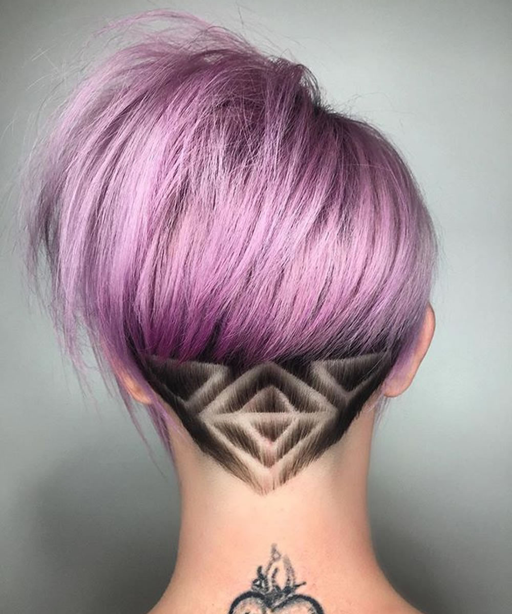 Undercut Hairstyle For Short Hair  25 Glowing Undercut Short Hairstyles for Women – Page 2