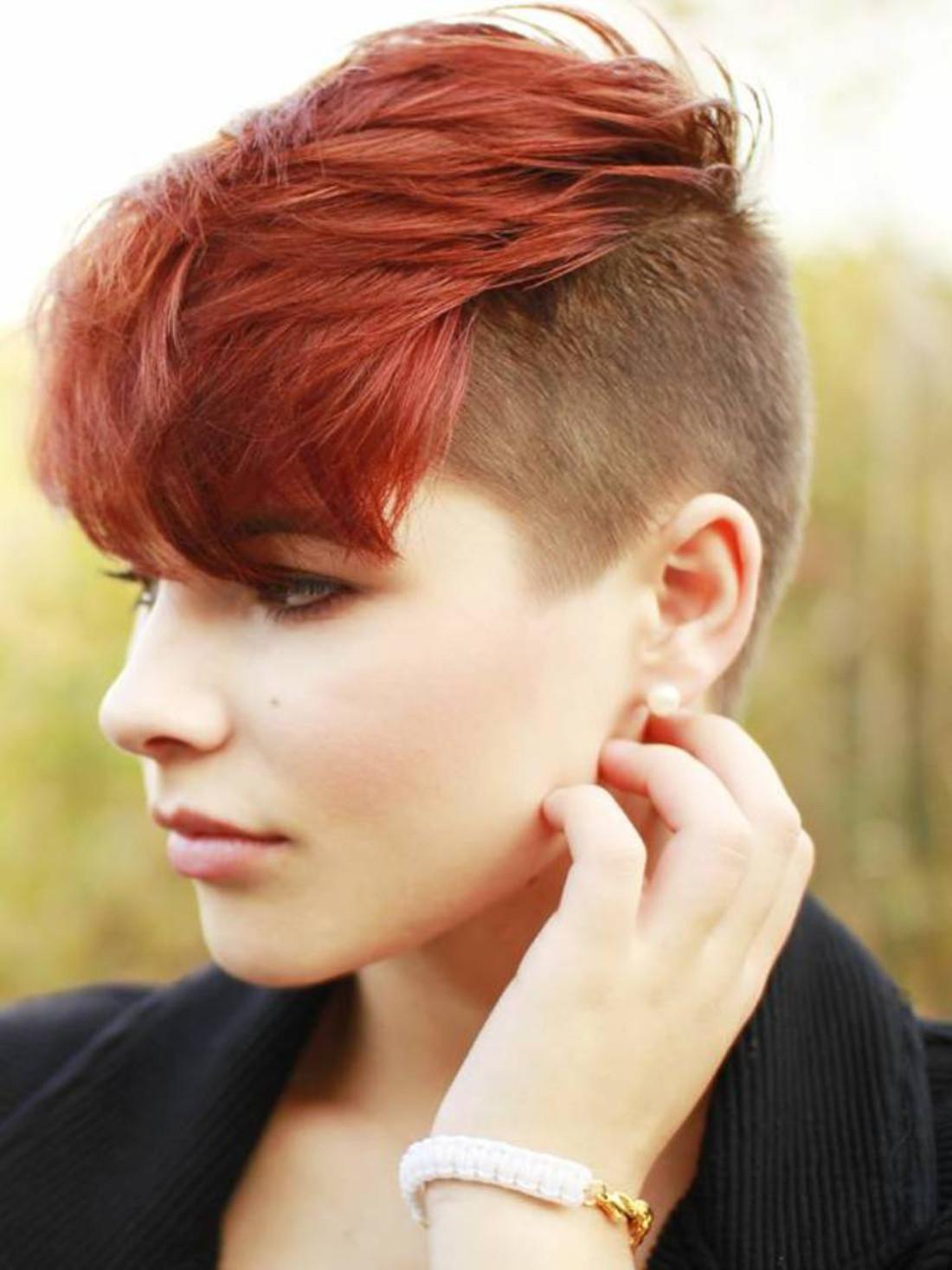 Undercut Hairstyle Girl  50 Ideen für Undercut Frauen zum Entlehnen und Nachmachen