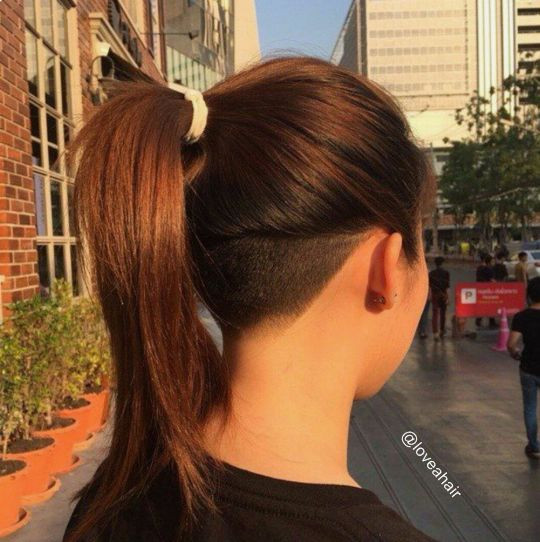 Undercut Hairstyle Girl  Best Undercut Hairstyles for Women