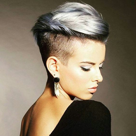 Undercut Hairstyle Girl  16 Edgy Chic Undercut Hairstyles for Women