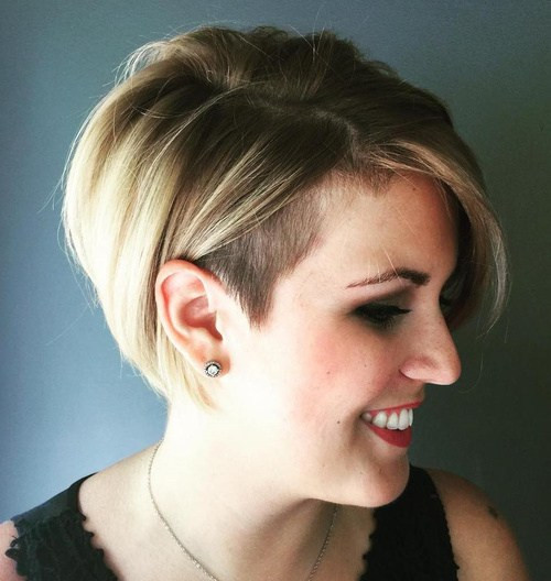 Undercut Hairstyle Girl  50 Women's Undercut Hairstyles to Make a Real Statement