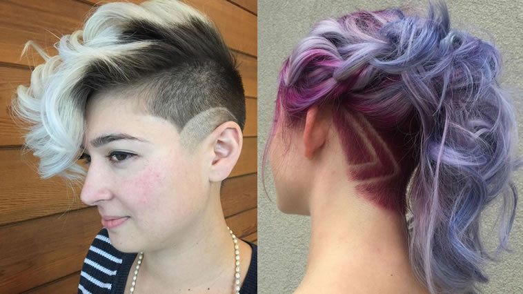 Undercut Hairstyle Girl  40 New Undercut Hairstyles For Women – Long Medium or
